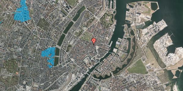 Oversvømmelsesrisiko fra vandløb på Ny Østergade 15, 1. , 1101 København K