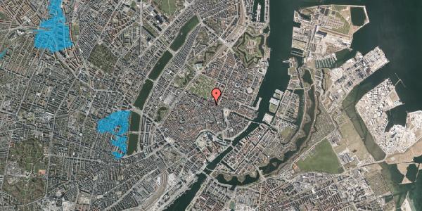 Oversvømmelsesrisiko fra vandløb på Ny Østergade 23, 2. th, 1101 København K