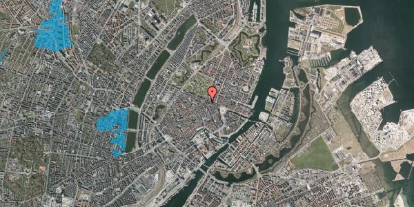 Oversvømmelsesrisiko fra vandløb på Ny Østergade 25, st. , 1101 København K