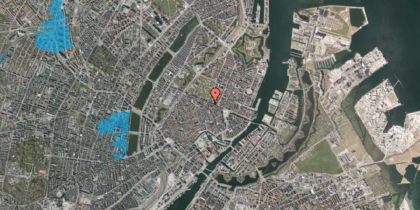 Oversvømmelsesrisiko fra vandløb på Ny Østergade 32, 1. tv, 1101 København K