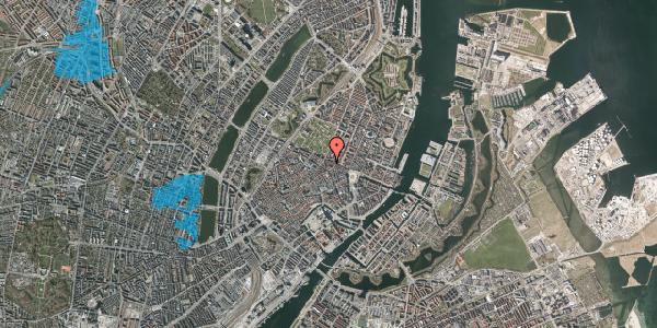 Oversvømmelsesrisiko fra vandløb på Ny Østergade 32, 2. mf, 1101 København K