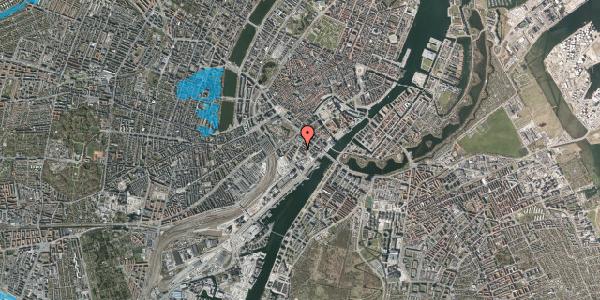 Oversvømmelsesrisiko fra vandløb på Otto Mønsteds Gade 1, 1. tv, 1571 København V