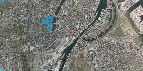 Oversvømmelsesrisiko fra vandløb på Otto Mønsteds Gade 1, 4. th, 1571 København V