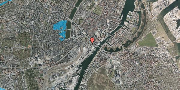 Oversvømmelsesrisiko fra vandløb på Otto Mønsteds Gade 1, 5. 522, 1571 København V