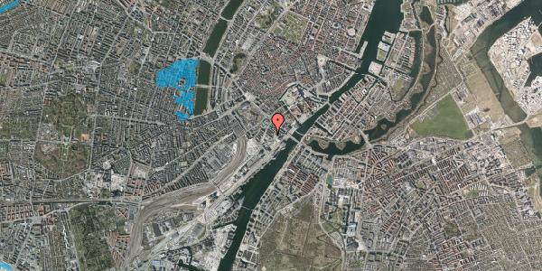 Oversvømmelsesrisiko fra vandløb på Otto Mønsteds Gade 7, 1. tv, 1571 København V