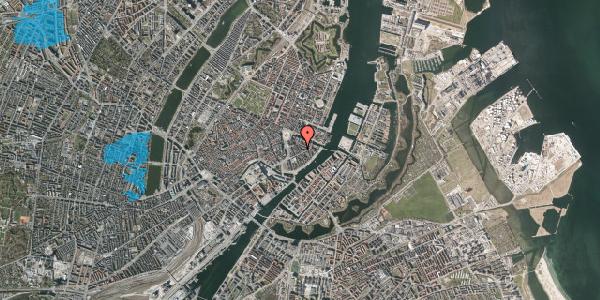 Oversvømmelsesrisiko fra vandløb på Peder Skrams Gade 7, 4. th, 1054 København K