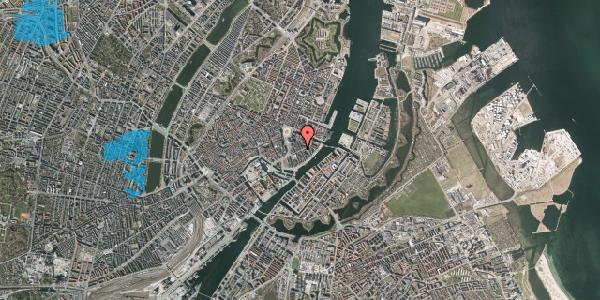 Oversvømmelsesrisiko fra vandløb på Peder Skrams Gade 12, 3. th, 1054 København K