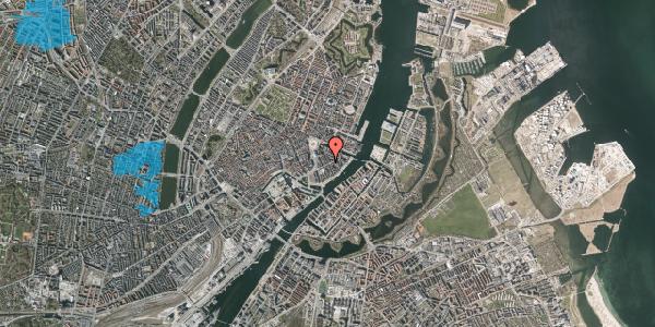 Oversvømmelsesrisiko fra vandløb på Peder Skrams Gade 12, 4. th, 1054 København K