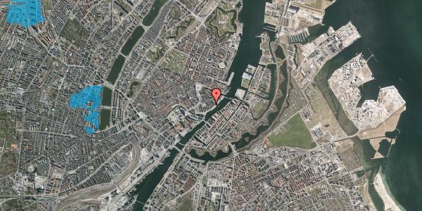 Oversvømmelsesrisiko fra vandløb på Peder Skrams Gade 23, 4. , 1054 København K