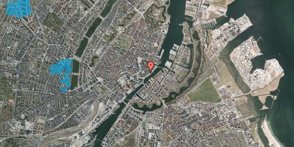 Oversvømmelsesrisiko fra vandløb på Peder Skrams Gade 26A, st. , 1054 København K