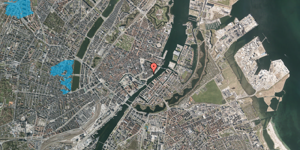 Oversvømmelsesrisiko fra vandløb på Peder Skrams Gade 26B, 5. th, 1054 København K