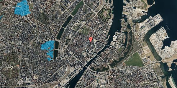 Oversvømmelsesrisiko fra vandløb på Pilestræde 4, 1. th, 1112 København K