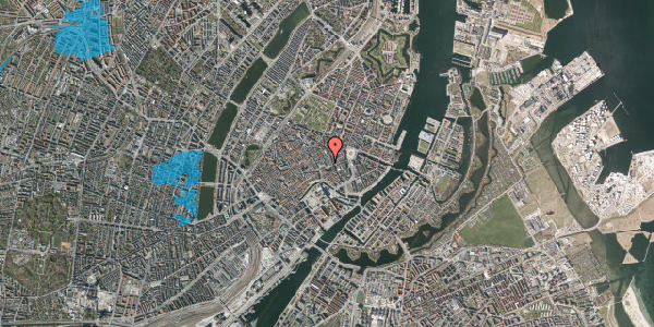 Oversvømmelsesrisiko fra vandløb på Pilestræde 6, 3. , 1112 København K