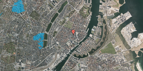 Oversvømmelsesrisiko fra vandløb på Pilestræde 8, st. , 1112 København K
