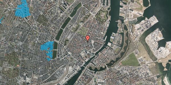 Oversvømmelsesrisiko fra vandløb på Pilestræde 28, 1. , 1112 København K