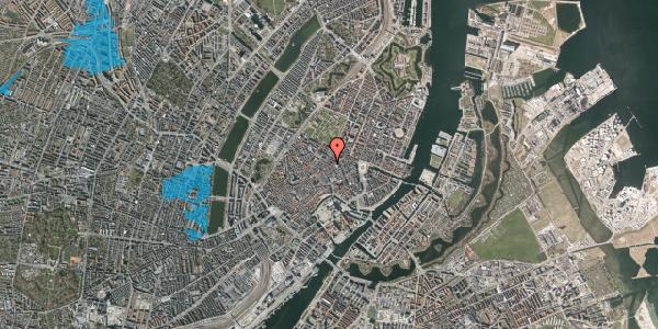 Oversvømmelsesrisiko fra vandløb på Pilestræde 39, 3. , 1112 København K