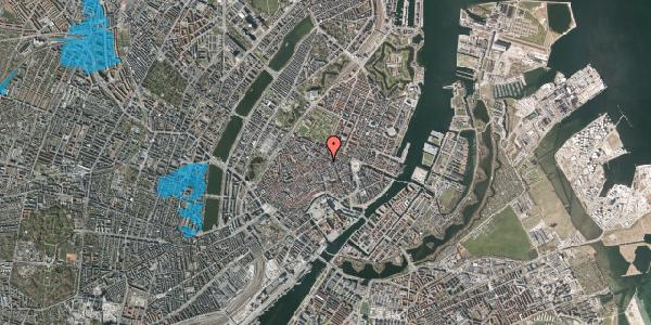 Oversvømmelsesrisiko fra vandløb på Pilestræde 40B, 1. , 1112 København K