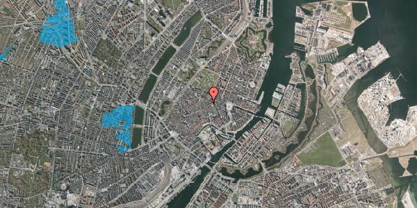 Oversvømmelsesrisiko fra vandløb på Pilestræde 46, 1. , 1112 København K