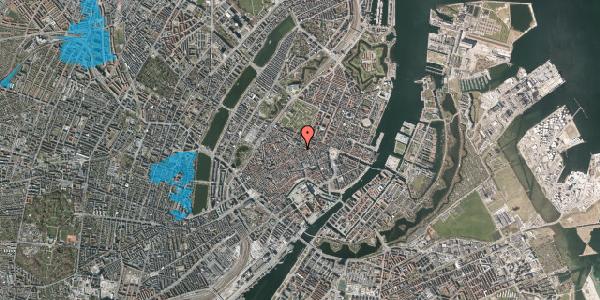 Oversvømmelsesrisiko fra vandløb på Pilestræde 47, 1. , 1112 København K
