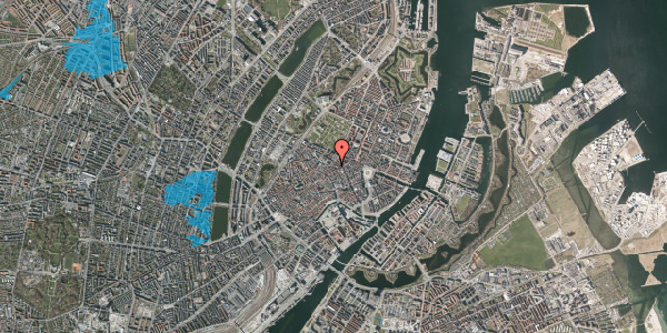 Oversvømmelsesrisiko fra vandløb på Pilestræde 52A, st. , 1112 København K