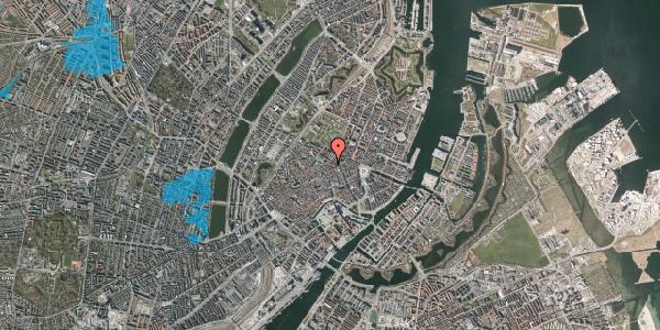Oversvømmelsesrisiko fra vandløb på Pilestræde 52A, 1. th, 1112 København K