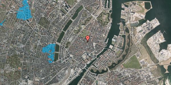 Oversvømmelsesrisiko fra vandløb på Pilestræde 52B, 1. th, 1112 København K