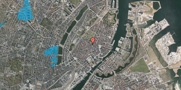 Oversvømmelsesrisiko fra vandløb på Pilestræde 52D, kl. , 1112 København K