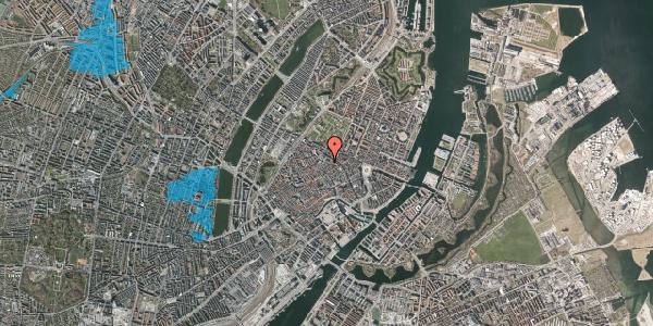 Oversvømmelsesrisiko fra vandløb på Pilestræde 55, 1. , 1112 København K