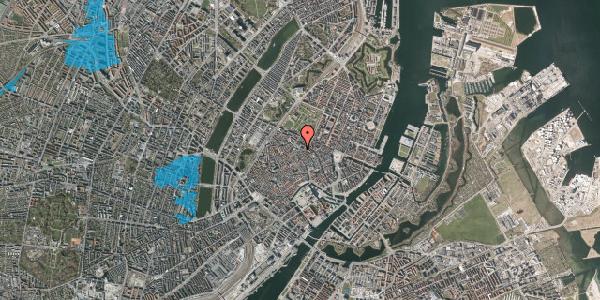 Oversvømmelsesrisiko fra vandløb på Pilestræde 57, 3. 1, 1112 København K