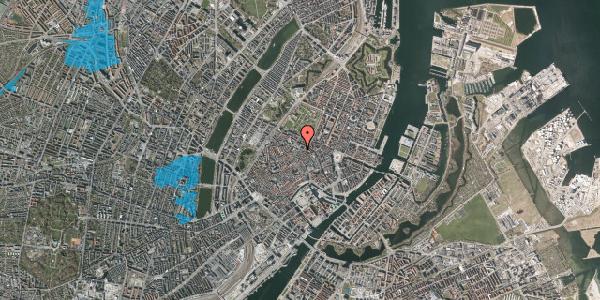 Oversvømmelsesrisiko fra vandløb på Pilestræde 57, 3. 4, 1112 København K