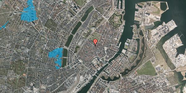 Oversvømmelsesrisiko fra vandløb på Pilestræde 63, 1112 København K