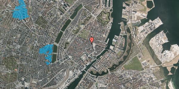 Oversvømmelsesrisiko fra vandløb på Pistolstræde 4, 1. , 1102 København K