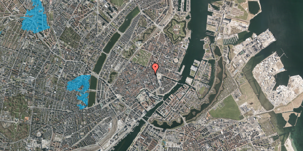 Oversvømmelsesrisiko fra vandløb på Pistolstræde 6, 3. , 1102 København K