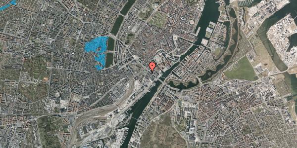 Oversvømmelsesrisiko fra vandløb på Puggaardsgade 3, 5. tv, 1573 København V