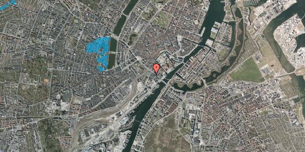 Oversvømmelsesrisiko fra vandløb på Puggaardsgade 5, 5. tv, 1573 København V