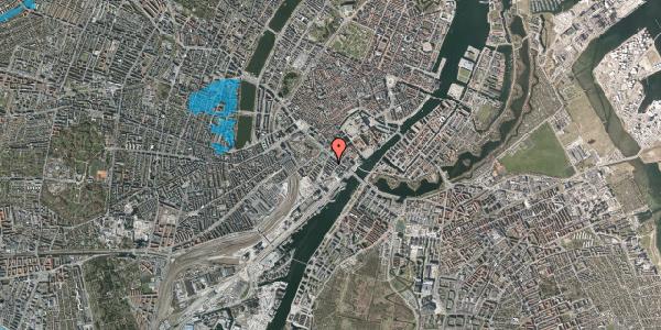 Oversvømmelsesrisiko fra vandløb på Puggaardsgade 6, 4. tv, 1573 København V