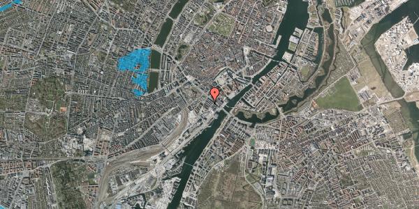 Oversvømmelsesrisiko fra vandløb på Puggaardsgade 10, 4. tv, 1573 København V