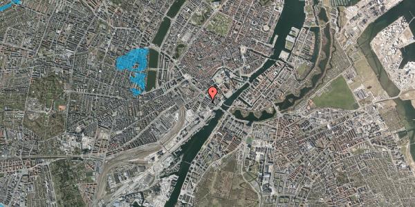 Oversvømmelsesrisiko fra vandløb på Puggaardsgade 12, 1573 København V