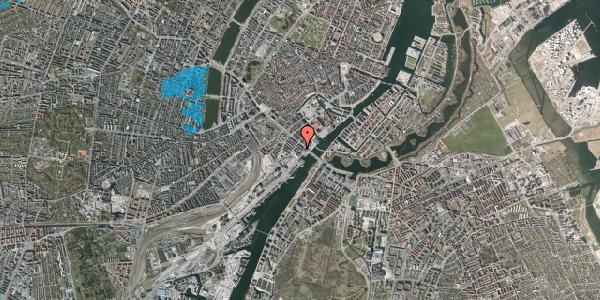 Oversvømmelsesrisiko fra vandløb på Puggaardsgade 17, 5. th, 1573 København V