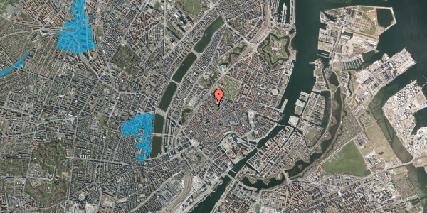 Oversvømmelsesrisiko fra vandløb på Pustervig 4, 2. , 1126 København K