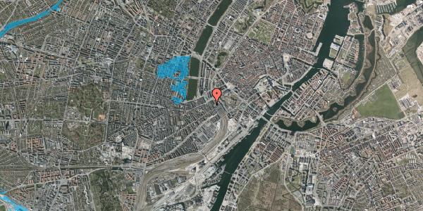 Oversvømmelsesrisiko fra vandløb på Reventlowsgade 8, kl. , 1651 København V