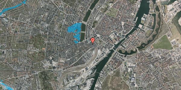 Oversvømmelsesrisiko fra vandløb på Reventlowsgade 12A, 3. tv, 1651 København V
