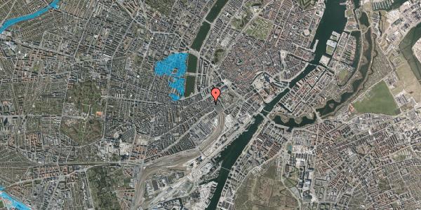 Oversvømmelsesrisiko fra vandløb på Reventlowsgade 14, 5. tv, 1651 København V