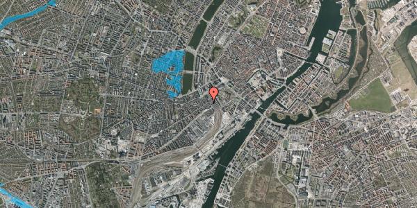 Oversvømmelsesrisiko fra vandløb på Reventlowsgade 16, 2. th, 1651 København V