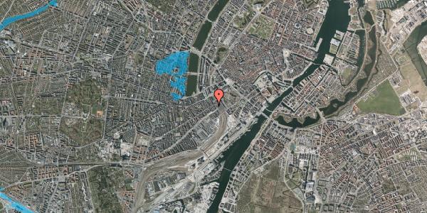 Oversvømmelsesrisiko fra vandløb på Reventlowsgade 16, 3. th, 1651 København V