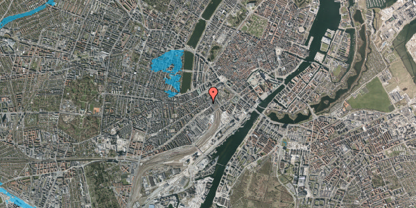 Oversvømmelsesrisiko fra vandløb på Reventlowsgade 18, kl. tv, 1651 København V