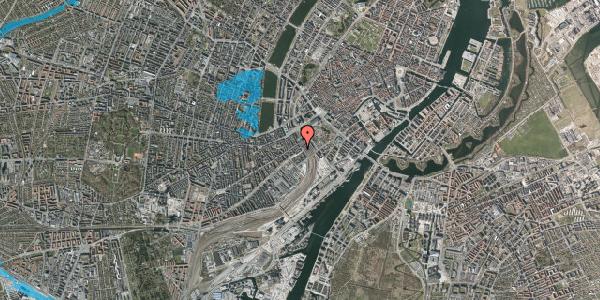 Oversvømmelsesrisiko fra vandløb på Reventlowsgade 20, kl. th, 1651 København V