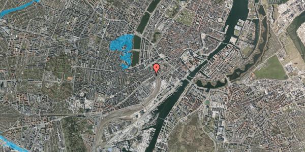 Oversvømmelsesrisiko fra vandløb på Reventlowsgade 22, st. tv, 1651 København V