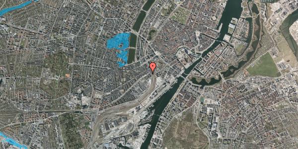 Oversvømmelsesrisiko fra vandløb på Reventlowsgade 24, 2. th, 1651 København V