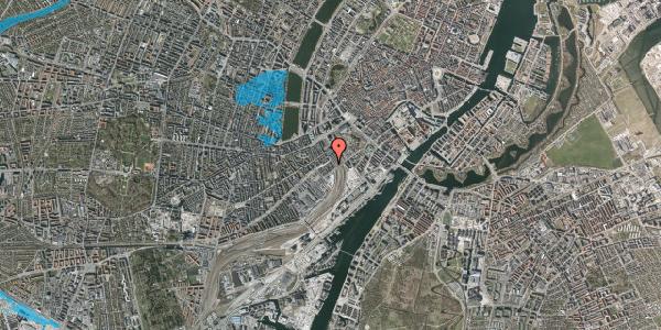 Oversvømmelsesrisiko fra vandløb på Reventlowsgade 26, 1. th, 1651 København V
